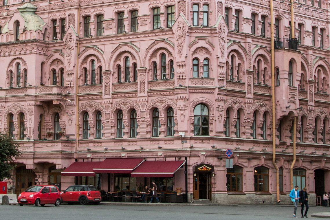 Architektur in rosa