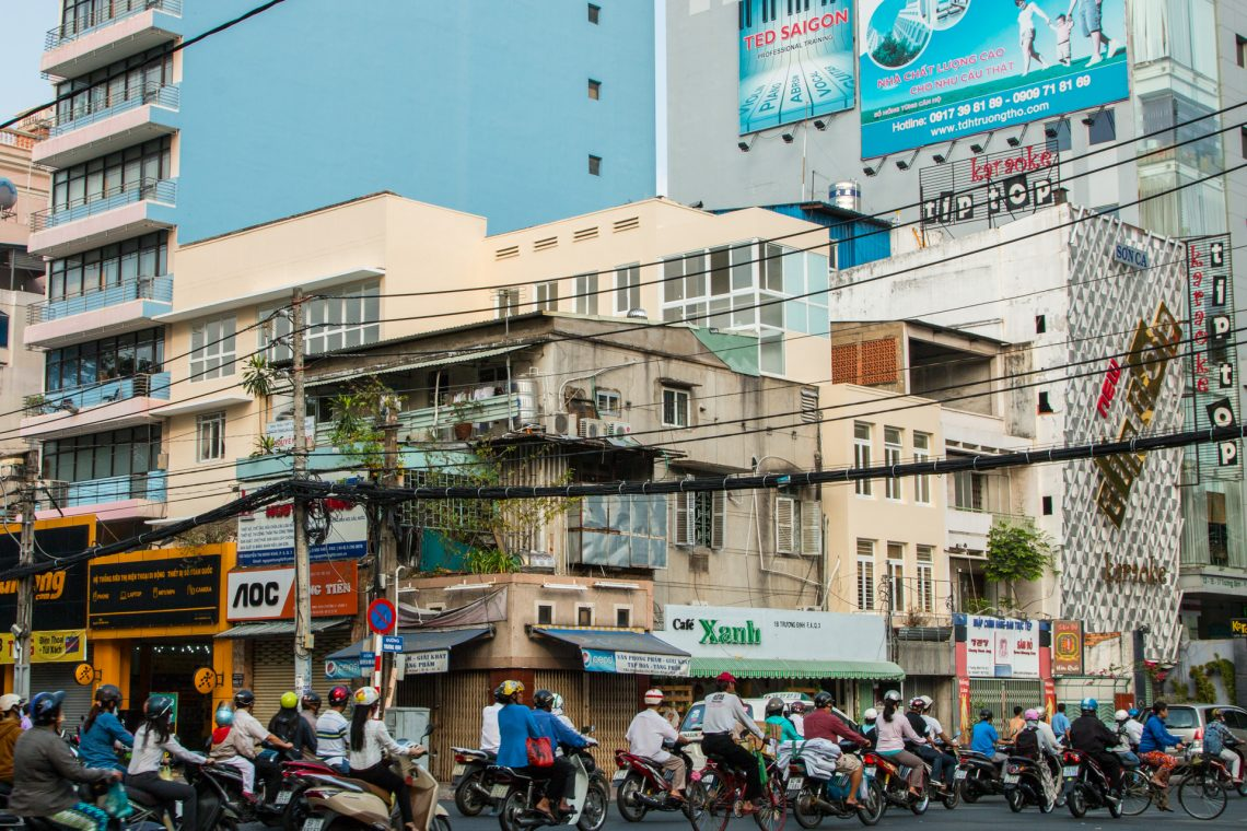 Rushhour in Saigon